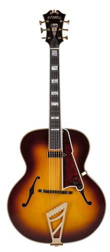 D'Angelico Guitars USA 1942 Master Builder Series  Vintage Sunburst