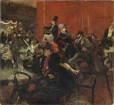 Giovanni Boldini - Scène de fête au Moulin Rouge, vers 1889  Huile sur toile - 97 x 104,5 cm  Paris, Musée d'Orsay  Photo : Musée d'Orsay/RMN