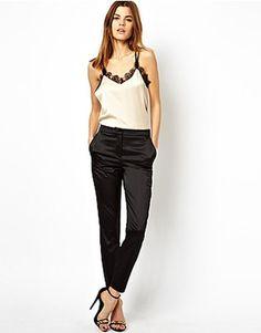 ASOS Fashion Finder | ASOS Trousers In Satin