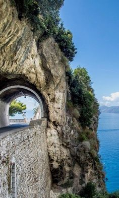 It may only stretch for 30 miles, but the Amalfi Coast offers enough idyllic beauty and Italian luxury for a standalone trip. Driving its winding seaside roads will take you to charming coastal towns…MoreMore #ItalyVacation