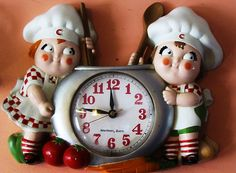 Campbell's Soup Kids Clock