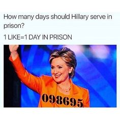 Let's see how many days!  #neverhillary  #defundPP #abortion #murder #libtards #guns #noguncontrol #guncontrol #nohillary #standwithrand #trump2016 #GOP #conservative #liberal #nobama #liberallogic #Cruz2016 #TrusTED  DM PICTURES FOR ME TO POST!  visit http://www.youthrevolt.org  ---------------------------------------- FOLLOW THESE GREAT PARTNERS ----------------------------------------  partners:  @political_revolution_   @the_american_21   @all_american_post   @r3dhour   @signed_on_1776…