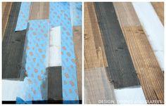 pintar madera varios tonos