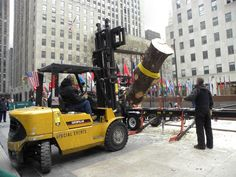 DID YOU KNOW that since 2007 the New York City Rockefeller Center's Christmas tree has been made into lumber that is used in homes built by Habitat for Humanity! True!