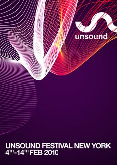 electronic music festival poster - Google Search