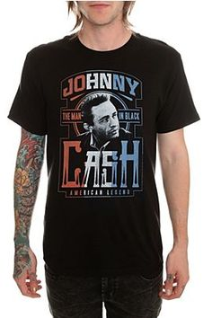 Johnny Cash American Legend T-Shirt @ Hot Topic, $19.88