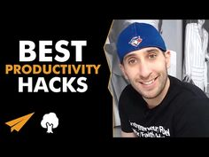 Best PRODUCTIVITY Hacks - Strategies to Increase Your PRODUCTIVITY - #BelieveLife - YouTube