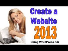 Build a Website With WordPress 3.5 (2013 Edition) slideshow tut