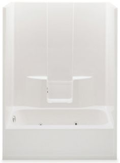 Guest Bath Tub/Shower Option #2 (the picture shows jets, but there wouldn't be any)