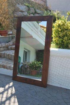 Te traigo el espejo #ponlo-donde-quieras-que-pega-con-todos-los-muebles #madera #mueble #rustico #cosas #artesanal #habitacion #diseño #exterior #interior #decoracion #wood