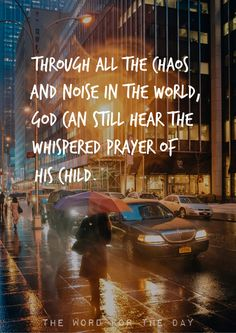 CITY TRAFFIC, CHRISTIAN QUOTES, PRAYER, INSPIRATION, BIBLE QUOTES
