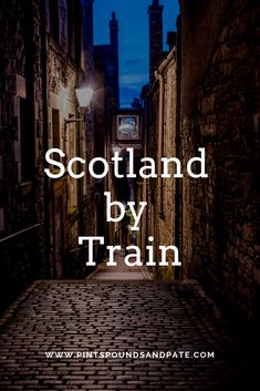 Interested in visiting Scotland by train? Click here to learn more about easy day trips from Edinburgh, all using public transit, including Stirling, St. Andrews, and the Highlands #travel #scotland #visitscotland