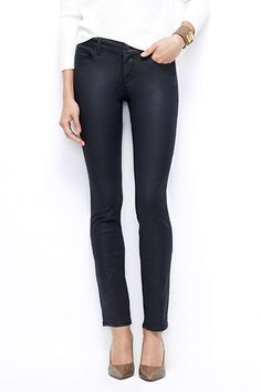 The End Of Skinny Jeans? Think Again #refinery29  http://www.refinery29.com/skinny-jeans-for-women#slide50