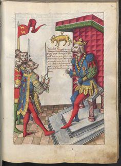 Grünenberg, Konrad: Das Wappenbuch Conrads von Grünenberg, Ritters und Bürgers zu Constanz um 1480 Cgm 145 Folio 84