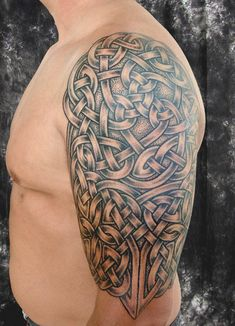 Celtic Knotwork. This is the basic idea, but less complicated.