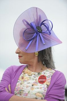 "PREAKNESS 2013 | Teresa Katz, 64, Vetnor, New Jersey. Jewelry designer. ""Whimsy. Funky. Delicious."" (Lloyd Fox/The Baltimore Sun) 
