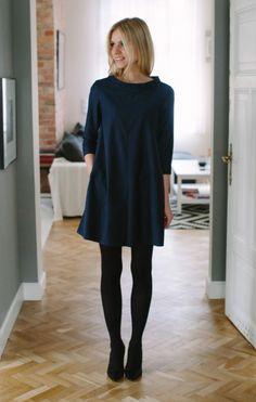 PREMIUM Sukienka ze stójką - Wyprzedaż - MLE Collection