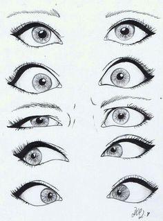 Disney Cartoon Eyes Drawing More - Eyes . - Makaron - Disney Cartoon Eyes Drawing More Eyes - Drawing Eyes, Drawing Sketches, Cool Drawings, Painting & Drawing, Sketch Art, Sketching, Cute Drawings Tumblr, Easy Eye Drawing, Manga Drawing
