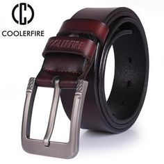 c418420d666 High quality genuine leather belt luxury designer belts men new fashion  Strapmodkily Adulting