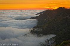 Cloud Sea Sunset, Hohuan Mountain
