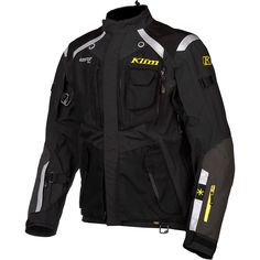 Klim Badlands jacket, a top of the line Gore-Tex motorcycle jacket from Klim. Stay dry on your next motorcycle adventure, trust Klim and Motochanic to take you there!