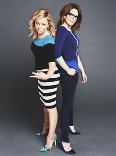 Amy Poehler & Tina Fey