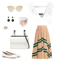 """""""Dreams of Summer"""" by outfits-inspo on Polyvore featuring мода, Jimmy Choo, Valentino, Christian Dior, Boohoo, Danse Lente и Spring Street"""