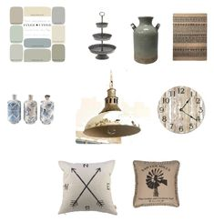 """modern farmhouse"" by szilagyikatalin on Polyvore featuring interior, interiors, interior design, home, home decor, interior decorating and modern"