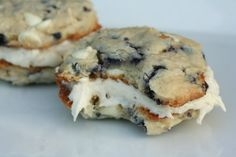 Blueberry cookies? where have you been all my life!