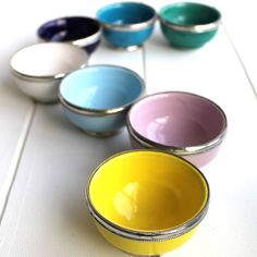 small silver trimmed moroccan bowls by posh totty designs interiors   notonthehighstreet.com