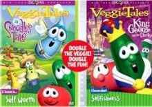 Veggie Tales: Snoodles/King George (2 DVD)