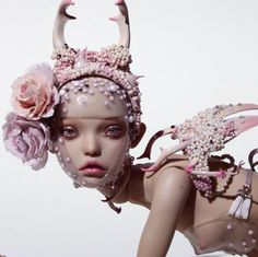 Peewit with accessories from new collection (moka skin tone) by Popovy Sisters - resin bjd doll Bjd Dolls, Doll Toys, Popovy Sisters, Enchanted Doll, Art Folder, Game Character Design, Living Dolls, Body Poses, Creepy Dolls