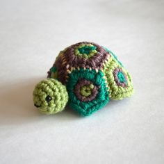 Crocheted Secret Turtle Box