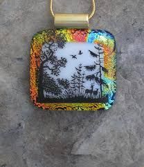 Image result for fused glass nature