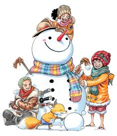 Snowman One Piece Anime, Zoro One Piece, One Piece Fanart, One Piece Wallpaper Iphone, One Piece Chapter, One Piece Drawing, One Piece Images, Monkey D Luffy, Manga Covers