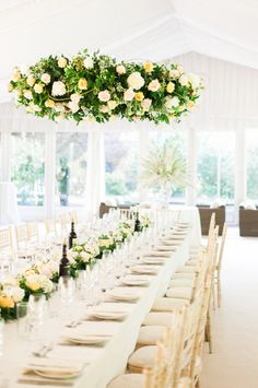 Classic English garden wedding