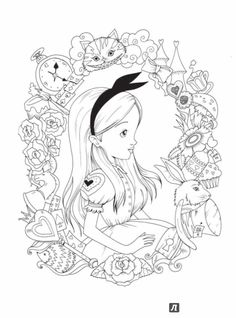 Alice In Wonderland Adult Coloring Book . 30 New Alice In Wonderland Adult Coloring Book . Coloring Pages Full Size Coloring Pages and Books Alice Cute Coloring Pages, Printable Adult Coloring Pages, Disney Coloring Pages, Coloring Pages To Print, Free Coloring, Coloring Books, Colouring Pages For Adults, Colouring In Sheets, Colouring For Adults