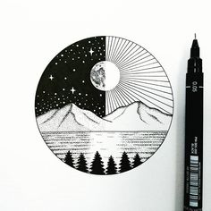 Making myself take the time to practice speed drawings alongside my current A2 piece cos I've realised I am probably the slowest artist on the planet . . . . #art #drawing #illustrate #illustration #doodle #design #ink #arts_gallery #landscape #mountains #dotwork #stars #moon #StunningArtwork #art_spotlight #instaart #art___share #sketchdaily #arts_help #blackworknow #artsamazingz #instafineliner #instaexploringart #artsanity #art_we_inspire #blackworkillustrations #iblackwork #handmade #...