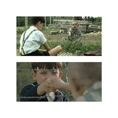 """We're not supposed to be friends, you and me. We're meant to be enemies. Did You know that?"". Bruno.  The Boy in The Striped Pyjamas (2008) a film by Mark Herman 🎬🎥. #Bruno #AsaButterfield #MarkHerman #Director #Drama #War #Quotes #Movies4Life #MoviesForLife #TheBoyInTheStripedPyjamas #Movies #Movie #Films #Film #Cinematography #Cinema #IMDB #Rotten .  @bad_robot182 @mrcinefilo @cineplaneta @cinemarkoficial ."