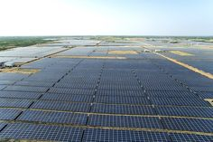 These images of the world's 'largest' solar power plant in India will leave you awestruck! - The Financial Express