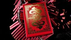 Commemorating Chinese culture in observance of the lunar new year, Fulton's Chinatown Playing Cards were inspired by the red envelope tradition and honor The Year of The Dragon, 2012. They're the luckiest deck you'll ever use. Hand illustrated by Dan Phillips, this new edition of Fulton's branded playing cards were printed with the same quality as the Fulton's Clip Joint Playing Cards and are packaged in the most beautiful box ever produced.