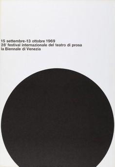 A.G. Fronzoni, 28. festival internazionale del teatro di prosa - la biennale di Venezia, 1969