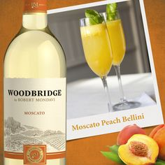 #Breakfastinbed? Use our #Moscato in this simple #cocktail #recipe.