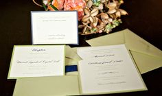 Kathy G. & Co. | j. messer photography | Southern Wedding Stationery