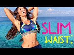 Welcome to reducing your waist with 5 magical exercises where you will also workout your abdomen. How to define your waist and flatten abs will be the goal o. Zumba Videos, Yoga Videos, Slim Waist Workout, Belly Fat Workout, Fitness Youtubers, Video Sport, Muffin Top Exercises, Hit Cardio, Workout Plan For Women