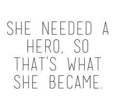 Monday Inspiration: Be your own hero