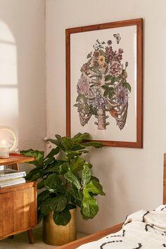 Fleuriosity Flowering Ribs Art Print | Urban Outfitters