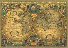 Vintage Map    Výsledky hľadania služby Google Image pre http://www.trueartworks.com/large/1500-20.jpg