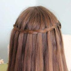 Waterfall Twist Hairstyle Tutorial