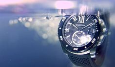 Water-resistant, precise, and sleek - the Calibre de #Cartier #Diver is the undeniably stylish solution for diving watches.